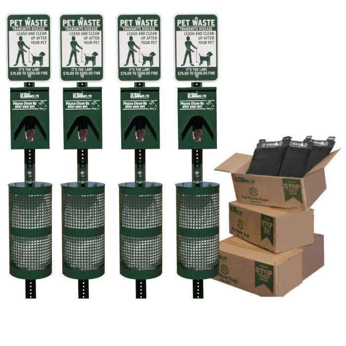 Keep Your Parks Clean Using Pet Waste Station Bundles