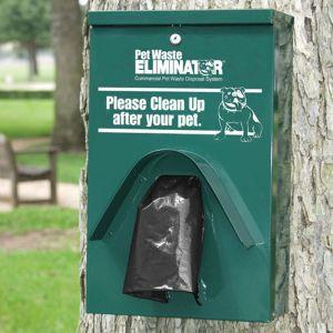 Green Budget Pet Waste Eliminator Station