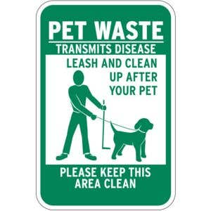 Ensure dog owners pick up their pets waste!
