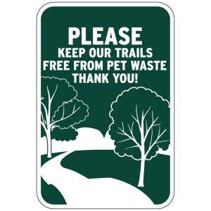 Keep your trails squeaky clean!