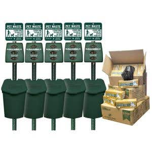 Includes 5 Top Selling Plastic Stations and 12,000 Bags!