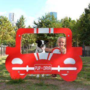 Dog Park Photo Panel - Car