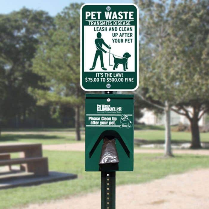 Doggie Walking Station