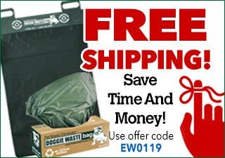 FREE Shipping on Pet Waste Bags