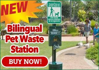 Bilingual Pet Waste Station