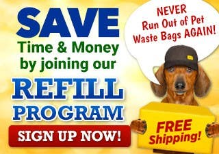 Save Time & Money by joining our Refill Program