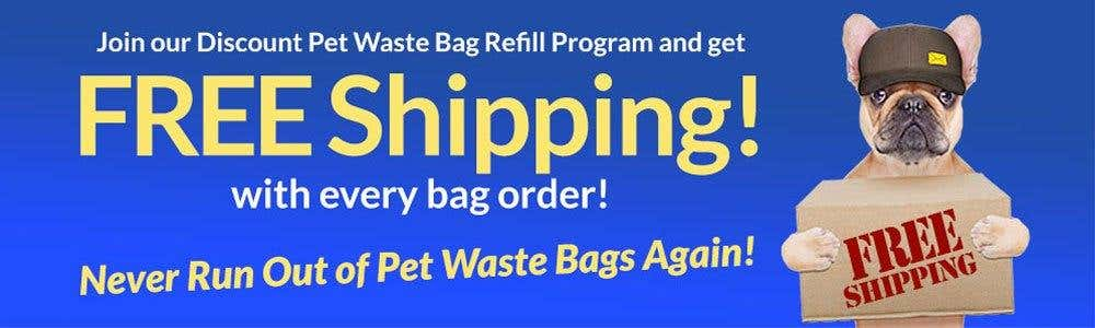 Free Shipping with Every Refill Bag Order