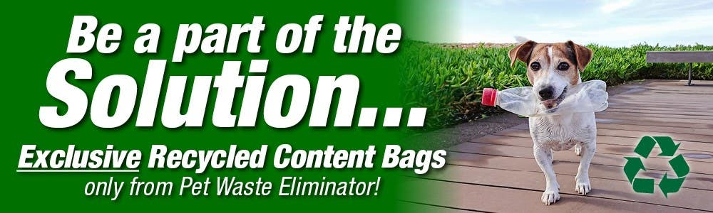 Partially recycled bag header